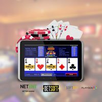 Video poker sur Azur Casino